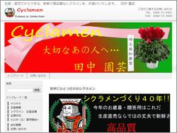 新鮮で高品質なシクラメン生産・直売 田中 園芸